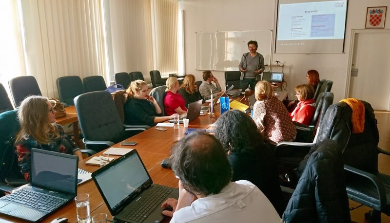 Rencontre de lancement à Zagreb / Polart Circle