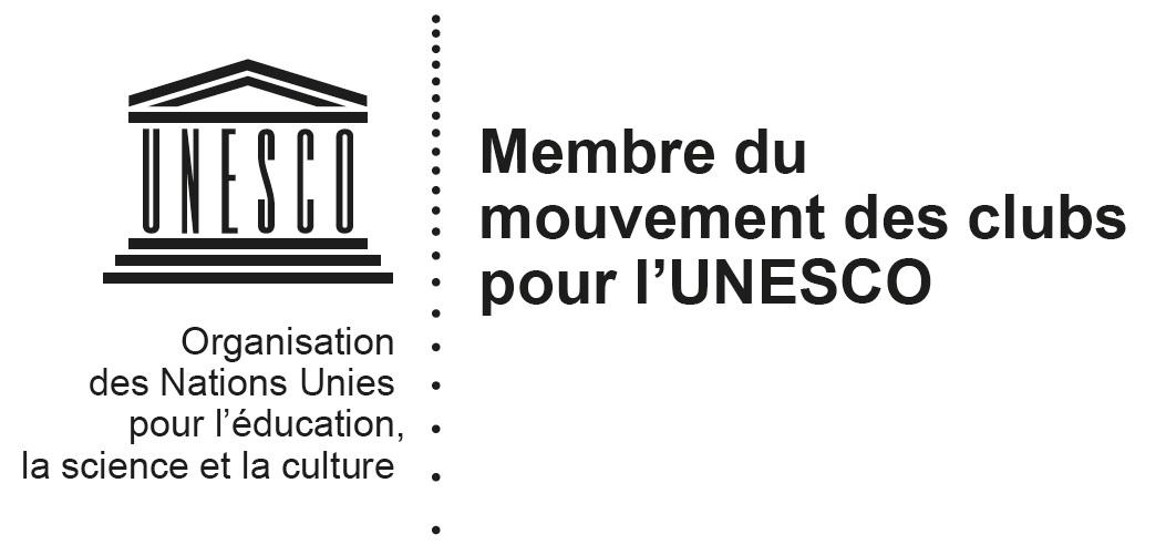 Logo Membre du mouvement des clubs français pour l'UNESCO