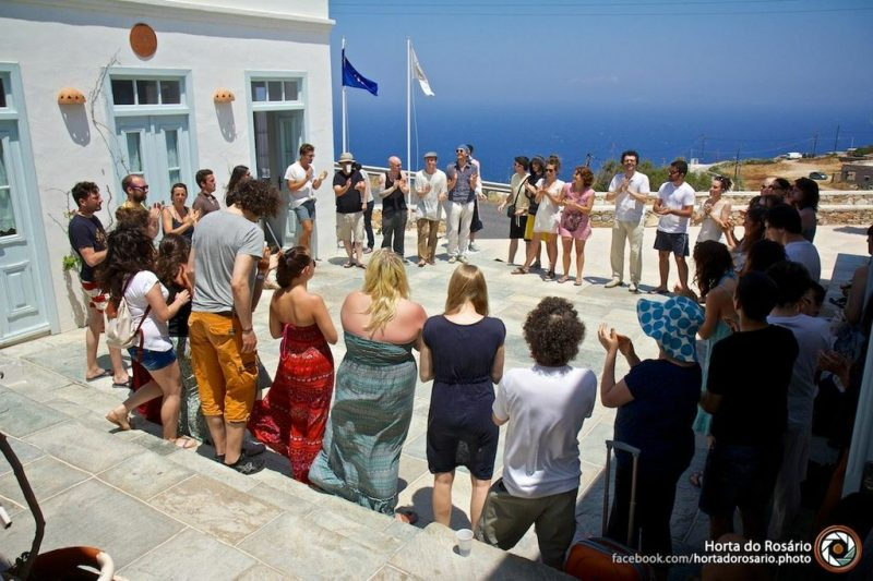 Sifnos crisis – international theatre workshop in Greece, July 2013
