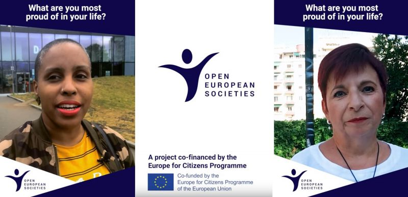 Open European Societies / campagne « All Different, All the Same »